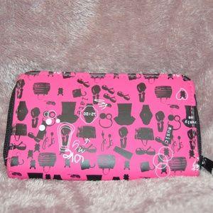 Handbags - SALE Brand New Pink Graphic Wallet